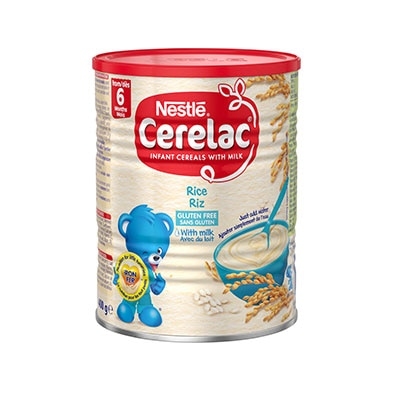 Nestlé CERELAC® Rice with Milk 400g